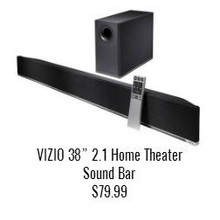Vizio 38-in. 2.1 Home Theater Sound Bar