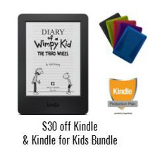 Kindle for Kids Bundle $30 Off