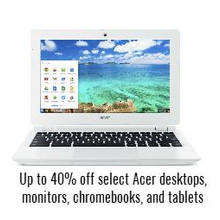 Acer Tablets Up to 40% Off