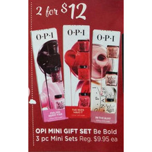 Opi Mini Gift 3-pc. Mini Sets 2 for $12