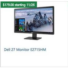 "Dell 27"" Monitor E2715HM"