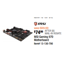 MSI Gaming 970 Motherboard