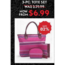 3-pc. Tote Set