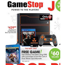 PlayStation 4 1TB Call of Duty Black Ops III Bundle