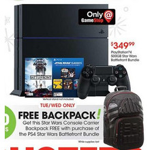 PlayStation 4 500GB Star Wars Battlefront Bundle