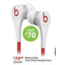 Beats by Dre Tour2 In-Ear Headphones