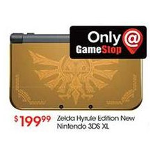 Zelda Hyrule Edition New Nintendo 3DS XL