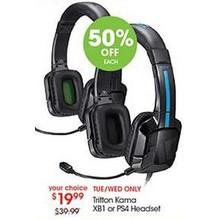Tritton Kama XB1 or PS4 Headset