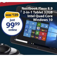 Nextbook Flexx 8.9 2-in-1 Tablet 32GB
