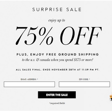 Kate Spade Black Friday Surprise Sale