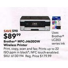 Brother MFC-J4620DW Wireless Printer