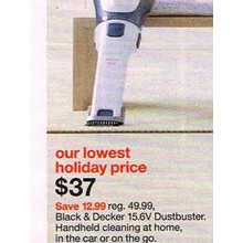 Black & Decker 15.6V Dustbuster