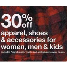 Apparel, Shoes & Accessories for Kids 30% OFF