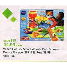 VTech Go! Go! Smart Wheels Park & Learn Deluxe Garage