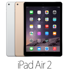iPad Air 2 64GB w/ Wi-Fi + Cellular