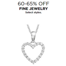 60-65% Off Fine Jewelry (Select Styles)