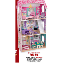 KidKraft Dakota Dollhouse with 20% Off Code DEALSEEKER