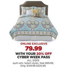 Quilt Sets (Select Styles) with 20% Off Code DEALSEEKERS