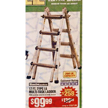 Haul Master 17-ft. Type IA Multi-Task Ladder