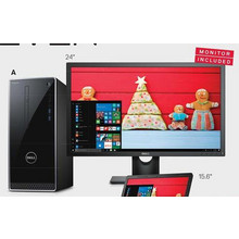 "Inspiron Desktop w/ Intel Core i5, 12GB RAM, 1TB HDD & Win 10 Home + Dell 24"" Monitor (E2416HM)"