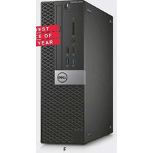 Dell OptiPlex 3040 Small Form Factor w/ 6th Gen. Intel Core i5, 8GB RAM, 500GB HDD & Win 7 Pro + Win 10 Pro License