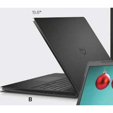 Inspiron 15 3000 Laptop w/ Intel Celeron, 4GB RAM, 500GB Hard Drive & Win 10 Home With Code LT199