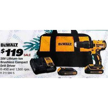 DeWalt 2V Lithium-Ion Brushless Compact Drill Driver