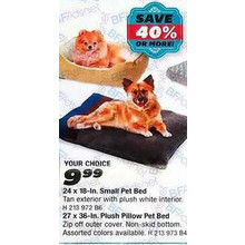 Small Pet Bed (24 x 18-in.)