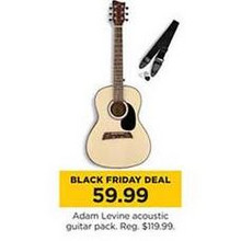 Adam Levine Acoustic Guitar Pack
