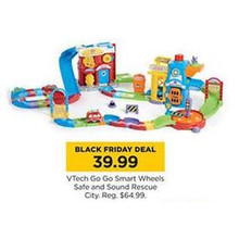VTech Go GO Smart Wheels Safe & Sound Rescue