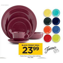 Fiesta 5-pc. Place Settings (Select Colors)