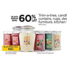 50% Off Yankee Candle (Assorted)