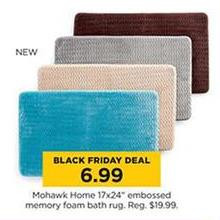 Mohawk Home Embossed Memory Foam Bath Rug (17 x 24-in.)