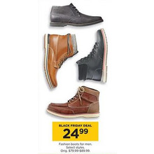 Mens Fashion Boots (Assorted)