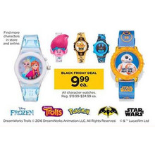 Character Watches (Assorted Characters)