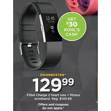 Fitbit Charge 2 Heart Rate + Fitness Wristband [EarlyBird]