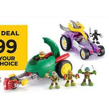 Half Shell Heroes Vehicle Battle Pack