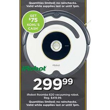 iRobot Roomba 620 Vacuuming Robot