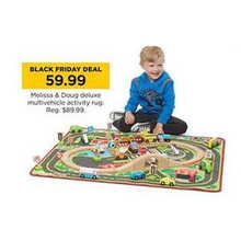 Melissa & Doug Deluxe Multivehicle Activity Rug