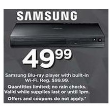 Samsung Blu-ray Player