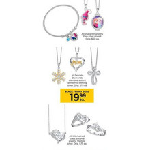 Silver Plated Character Jewelry (Assorted)
