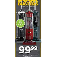 Shark Navigator Swivel Bagless Vacuum [EarlyBird]