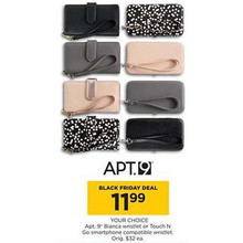Apt. 9 Bianca Wristlet (Assorted Colors)