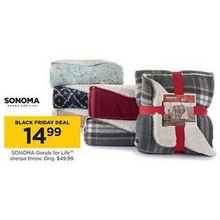 Sonoma Goods For Life Sherpa Throw