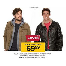Levis Mens Faux Leather Jackets