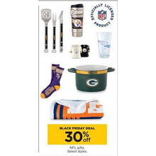 30% OFF NFL Gifts (Assorted Styles)