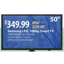 "Samsung 50"" 1080p Smart LED TV"