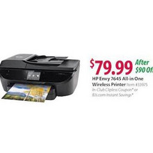 HP Envy 7645 e-All-in-One Color Printer