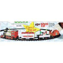 Hat Toy Company 34-pc. Christmas Train