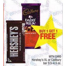 BOGO FREE Cadbury Chocolate
